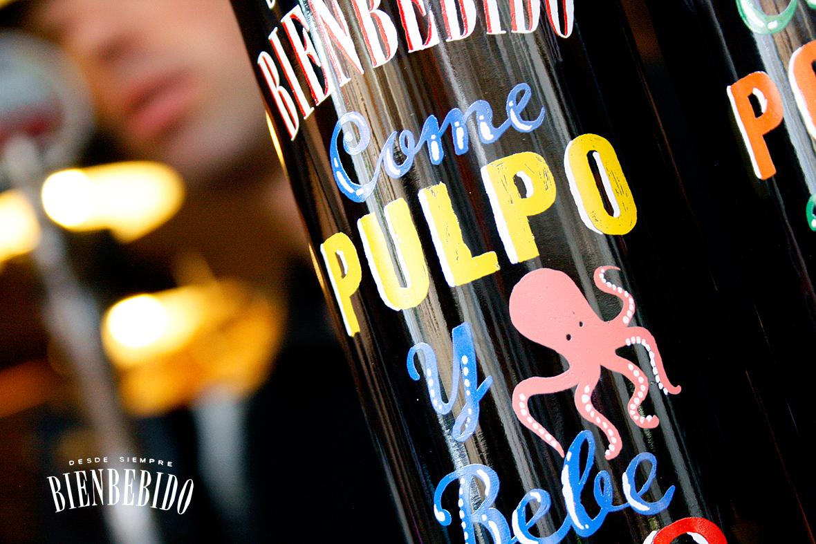 Bienbebido para tomar con Pulpo.
