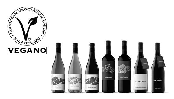 Aroa Bodegas recibe el certificado V-Label para sus vinos 100% veganos