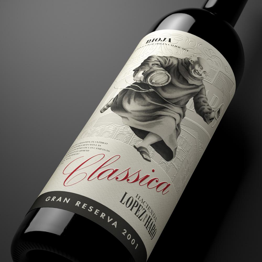 hacienda lopez de haro, classica, cura, rioja, gran reserva, tinto, vino clásico, vino de rioja