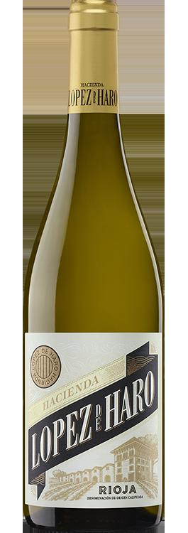 botella Hacienda López de Haro blanco