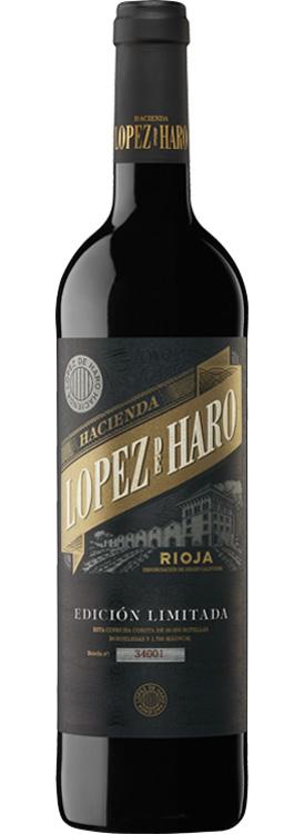 botella Hacienda López de Haro edicion limitada