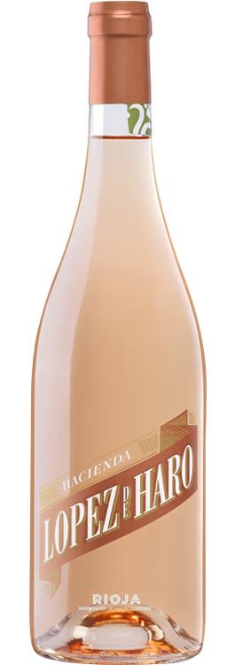 botella Hacienda López de Haro rosado