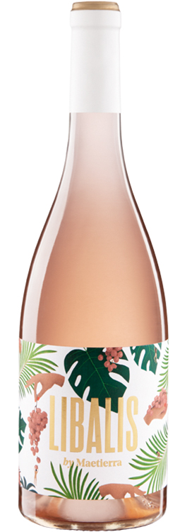 botella maetierra libalis rose
