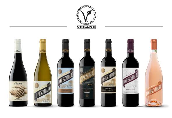 The Hacienda López de Haro wines now have their vegan certification