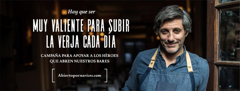 #Abiertopornarices, la campaña para apoyar la reapertura de los bares de Hacienda López de Haro