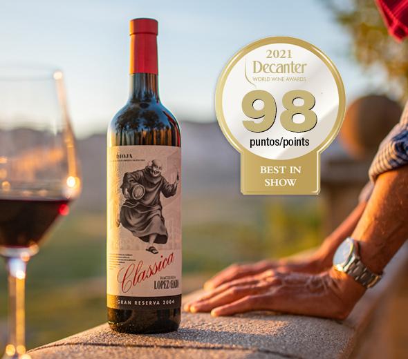 Classica Hacienda López de Haro Gran Reserva 2004, el mejor vino tinto español según Decanter